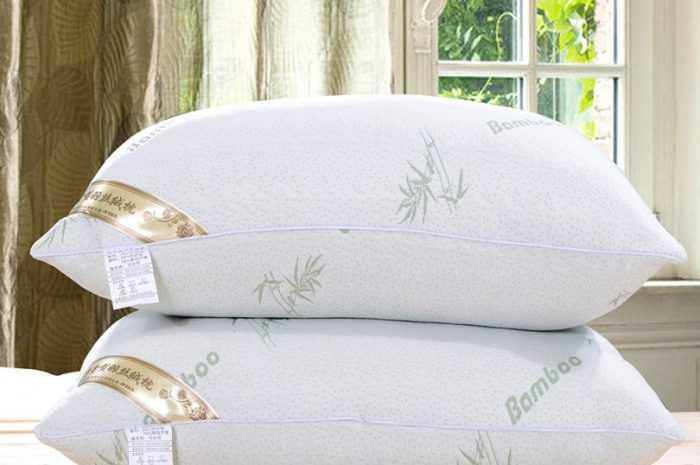 Бамбуковые подушки: преимущества и недостатки материала. Разновидности размера и формы подушки. Советы по пошиву чехла на подушку (фото + видео)