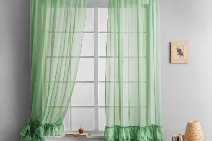 Фото занавесок: оформление занавесок разного размера и длины. Цветовая гамма, типы материалов, узоров и креплений занавесок (фото + видео)