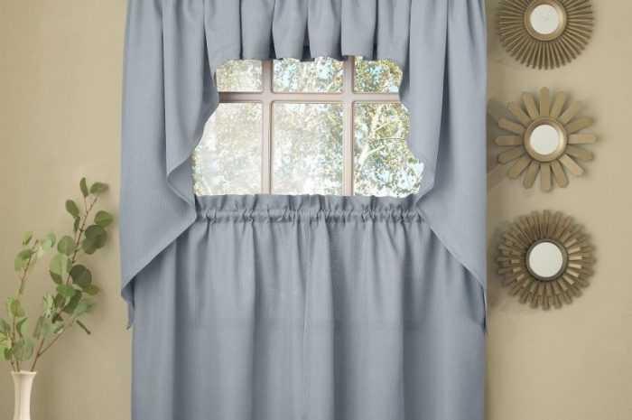 Голубые шторы: плюсы и минусы штор голубого цвета, особенности применения в разных интерьерах. Разнообразие голубых оттенков (фото + видео-обзоры)