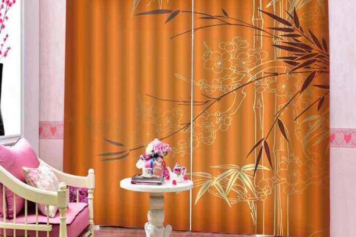 Оранжевые шторы — ТОП-190 фото и видео идей дизайна оранжевых штор. Виды тканей, оранжевых тонов и способы их сочетания и декорирования