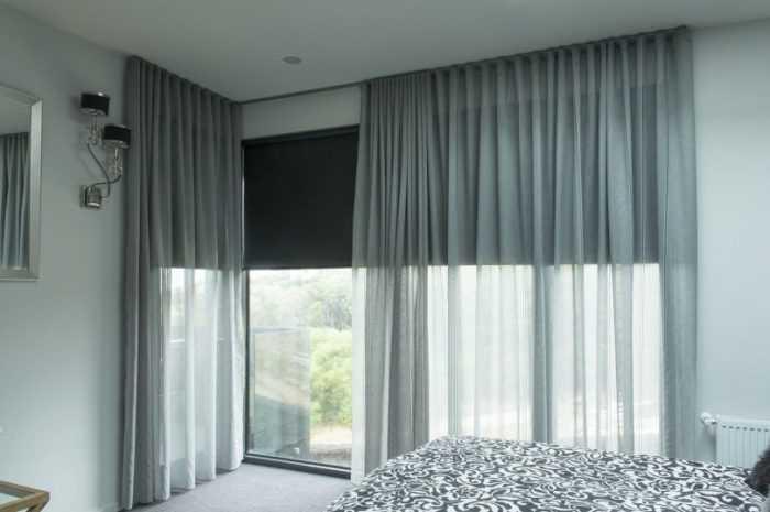 Серый тюль: нюансы использования серого тюля в интерьере. Подходящие материалі тканей серого цвета. 150 фото + видео-примеры