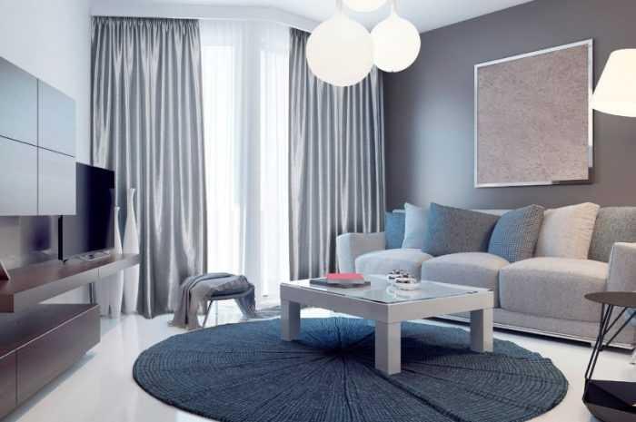 Шторы к серым обоям: нюансы сочетания штор с обоями. Подходящие цвета и оттенки штор под серые обои. 150 фото + видео-примеры дизайнов